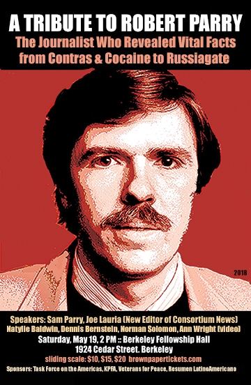 Tribute to Robert Parry @ Fellowship Hall | Berkeley | California | United States