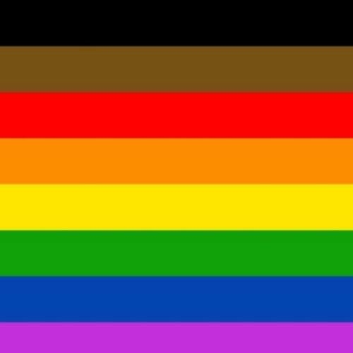 BLM rainbow flag
