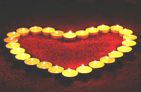 candles heart brighter